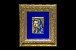 Germanà's Mosaic : Addolorata 12×16Mosaico Maestro Germanà : Addolorata 12×16