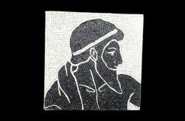 Bracalenti's Mosaic : Aedo 34×34Mosaico Maestro Bracalenti : Aedo 34×34