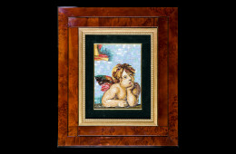 Germanà's Mosaic : Angelo 15×20Mosaico Maestro Germanà : Angelo 15×20