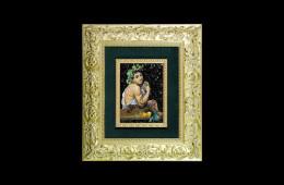 Germanà's Mosaic : Bacco di Caravaggio 16×22Mosaico Maestro Germanà : Bacco di Caravaggio 16×22