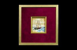 Tumminiello's Mosaic : Barca a vela 7×8Mosaico Maestro Tumminiello : Barca a vela 7×8