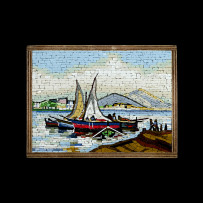 Tumminiello's Mosaic : Barche a Vela 11×15Mosaico Maestro Tumminiello : Barche a Vela 11×15