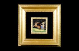 Mandolini's Mosaic : Biga con Angelo 7×8Mosaico Maestro Mandolini : Biga con Angelo 7×8