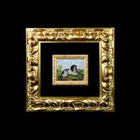 Mandolini's Mosaic : Cane 7×8Mosaico Maestro Mandolini : Cane 7×8