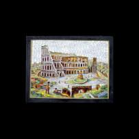 Traversari Brothers Mosaic : Colosseo 10×13,50Mosaico Fratelli Traversari : Colosseo 10×13,50