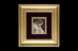 Tiberi's Mosaic : Cristo in preghiera 13×11Mosaico Maestro Tiberi : Cristo in preghiera 13×11
