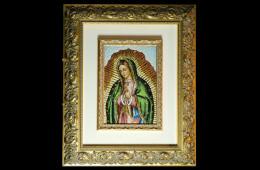 Traversari's Mosaic : Guadalupe 23×33Mosaico Maestro Traversari : Guadalupe 23×33
