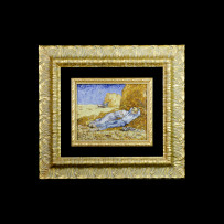 Giannocchero's Mosaic : La Siesta Van Gogh 23×29Mosaico Maestro Giannocchero : La Siesta Van Gogh 23×29