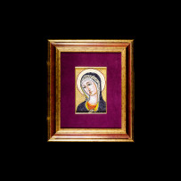 Antique Mosaics: Madonna BizantinaMosaici Antichi: Madonna Bizantina