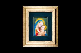 Antique Mosaics: Madonna con BambinoMosaici Antichi: Madonna con Bambino
