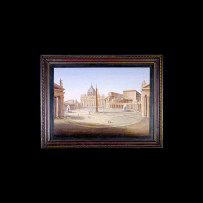 Antique Mosaics: Piazza San PietroMosaici Antichi: Piazza San Pietro