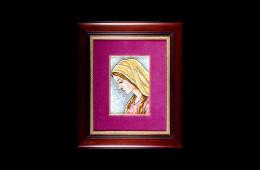 Antique Mosaics: Vergine MariaMosaici Antichi: Vergine Maria