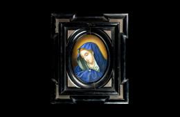 Antique Mosaics: Madonna AddolorataMosaici Antichi: Madonna Addolorata