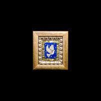 Antique Mosaics: Colomba fondo bluMosaici Antichi: Colomba fondo blu